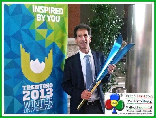 universiadi trentino 2013 genziana delle alpi 1 Trentino 2013, lUniversiade sarà accesa dalla Genziana delle Alpi