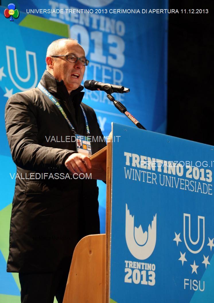 Universiade Trentino 2013 14 Universiade Trentino 2013, Cerimonia di Apertura tra storia e modernità