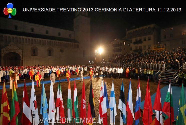Universiade Trentino 2013 2 Universiade Trentino 2013, Cerimonia di Apertura tra storia e modernità