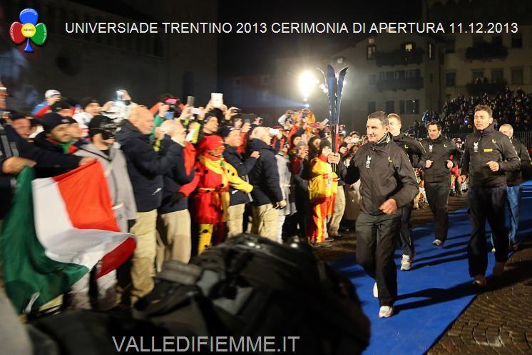 Universiade Trentino 2013 4 Universiade Trentino 2013, Cerimonia di Apertura tra storia e modernità