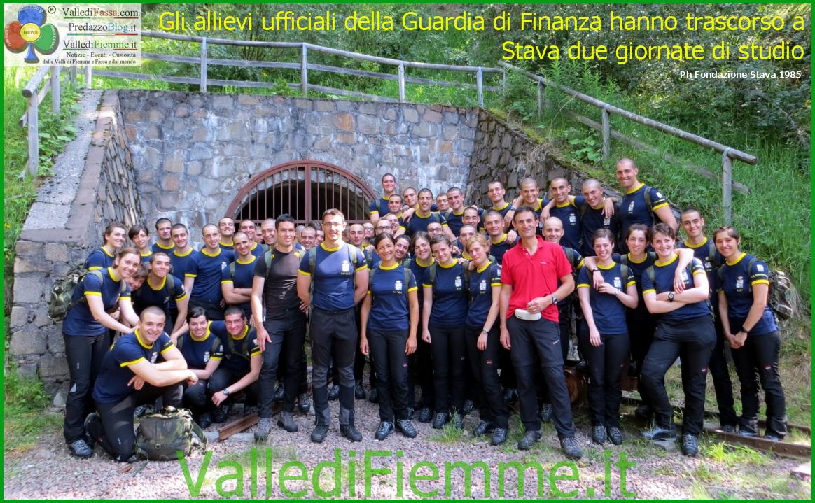 allievi ufficiali guardia di finanza a stava valle di fiemme Tesero, bilancio lusinghiero per la Fondazione Stava 1985 Onlus