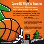 basket fiemme 150x150 Cavalese, Basket e beneficenza pro emergenza umanitaria nelle Filippine