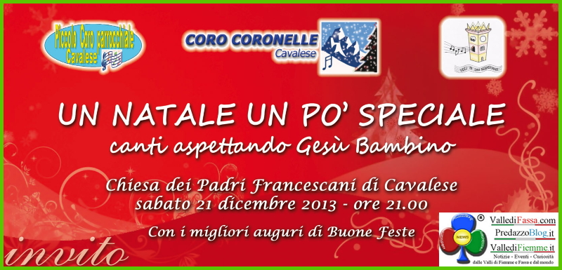 coro coronelle concerto natale Cavalese, Un Natale un po speciale con i Cori Coronelle e Voci di S.Sebastiano