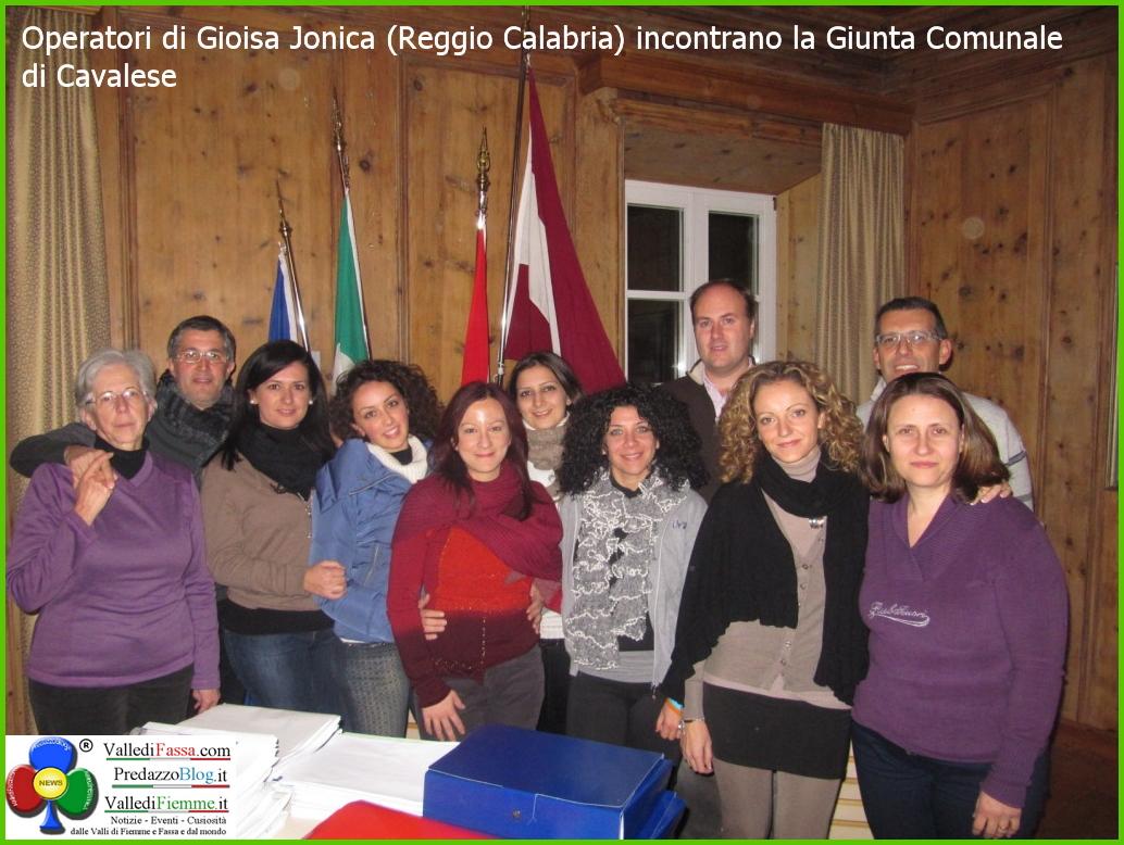 operatori gioiosa ionica a cavalese fiemme Cavalese, visite e workshop degli operatori di Gioiosa Jonica