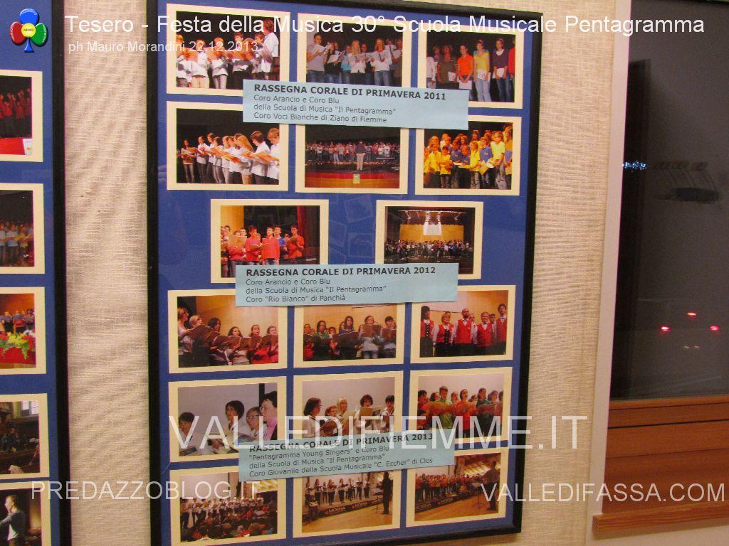 tesero festa della musica 30 anni pentagramma 22.12.2013 valle di fiemme15 Open Day alla Scuola Musicale di Fiemme e Fassa