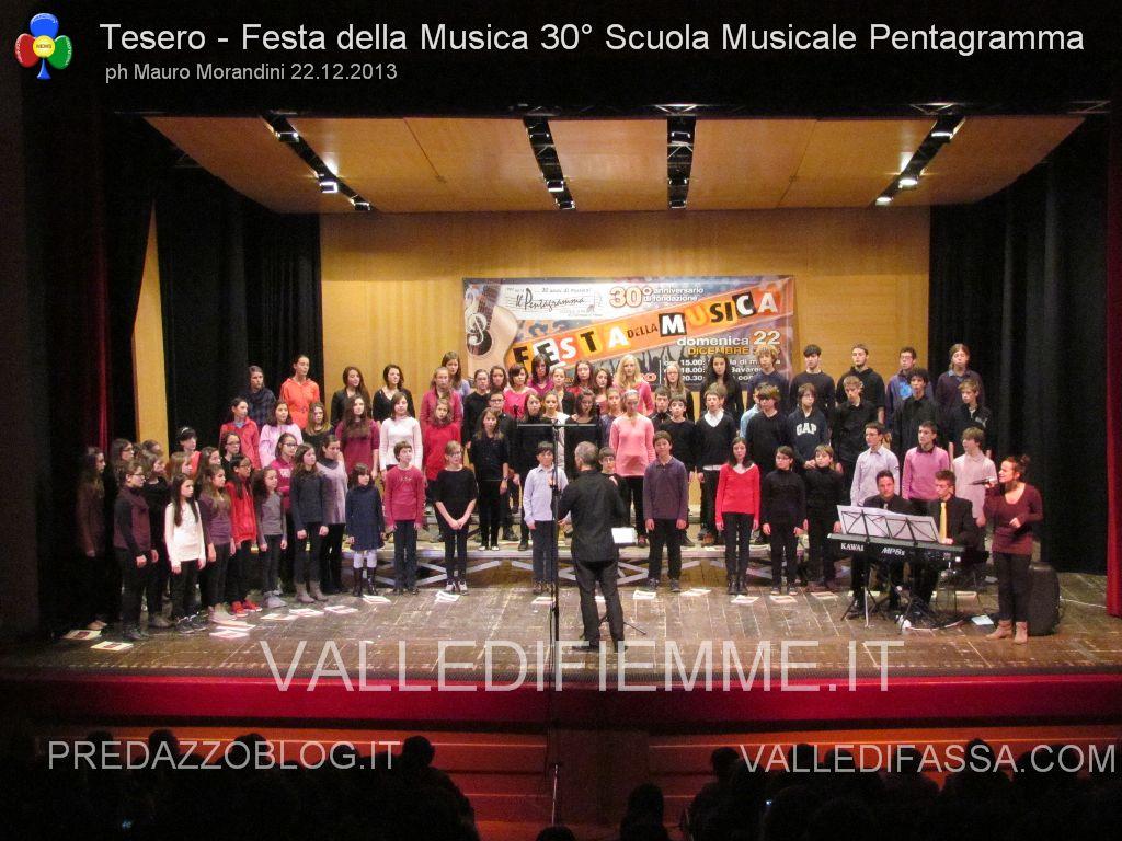 tesero festa della musica 30 anni pentagramma 22.12.2013 valle di fiemme96 Open Day alla Scuola Musicale di Fiemme e Fassa