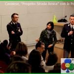 Cavalese Progetto Strada Amica con la Polizia Stradale 150x150 Il Capitano dei Carabinieri Enzo Molinari parla agli studenti