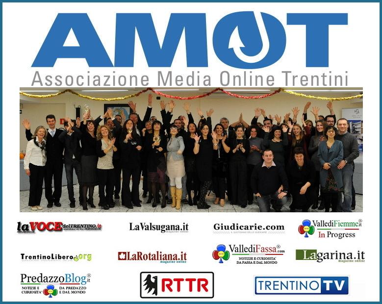amot associazione media on line trentino VallediFiemme.it da oggi in rassegna stampa su RTTR con AMOT