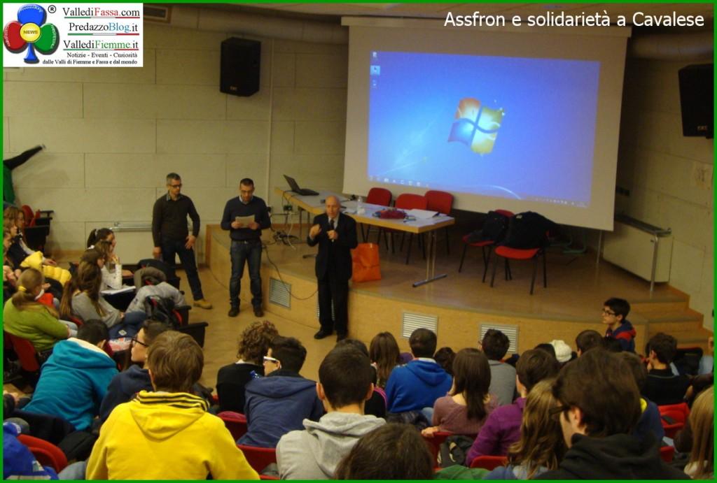 assfron e solidarieta a cavalese la rosa bianca fiemme 1 1024x691 Assfron ed impegno nelle scuole di Fiemme