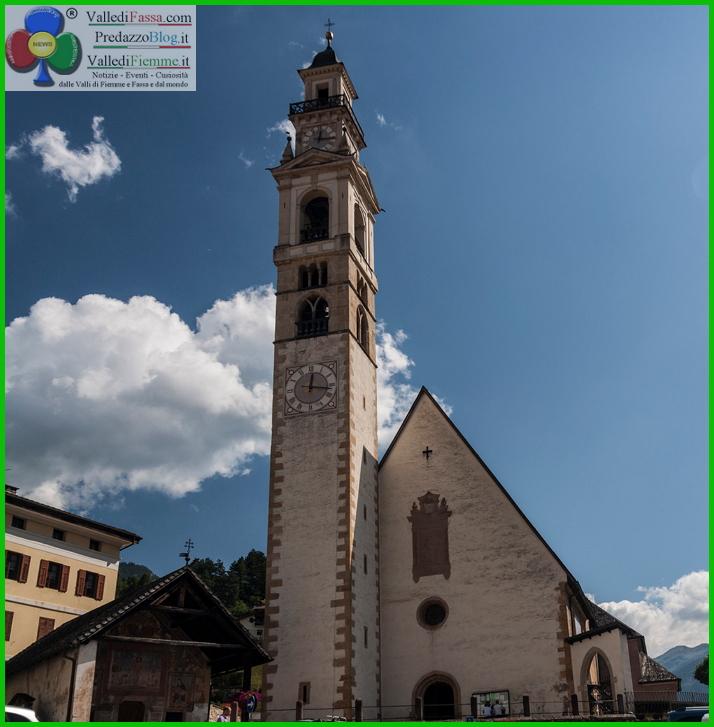 chiesa di tesero fiemme Tesero, ultimo addio a Cornelio Moresco