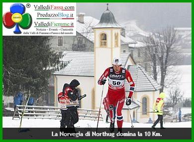 nortug tour de ski fiemme 2014 Tour de Ski in Valle di Fiemme oggi a Petter Nortug e Therese Johaug