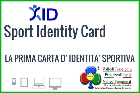 sid carta identita sportiva fiemme SID la carta d'identità sportiva per gli alunni di Fiemme