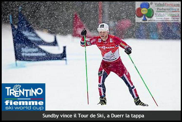 tour de ski fiemme 2014 duerr Tour de Ski, Johaug e Duerr trionfano alla Final Climb Cermis   phst live