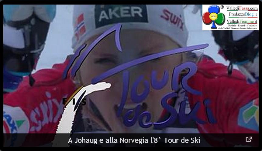 tour de ski fiemme 2014 johaug Tour de Ski, Johaug e Duerr trionfano alla Final Climb Cermis   phst live
