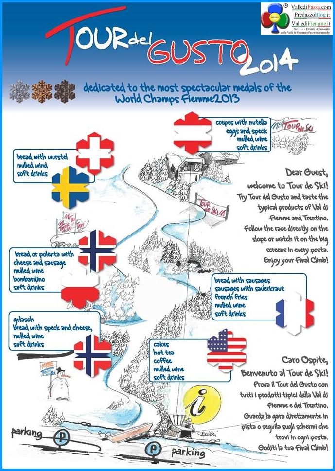 tour del gusto 2014 cermis fiemme tour de ski Tour de Ski in Valle di Fiemme oggi a Petter Nortug e Therese Johaug