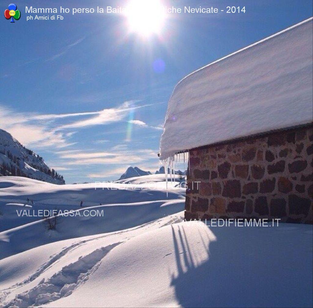Mamma ho perso la baita baite con neve inverno 2014 for Piccoli piani di baite