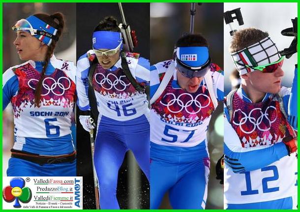 sochi 2014 biathlon Sochi 2014, Biathlon: grazie ragazzi, è la medaglia più bella!
