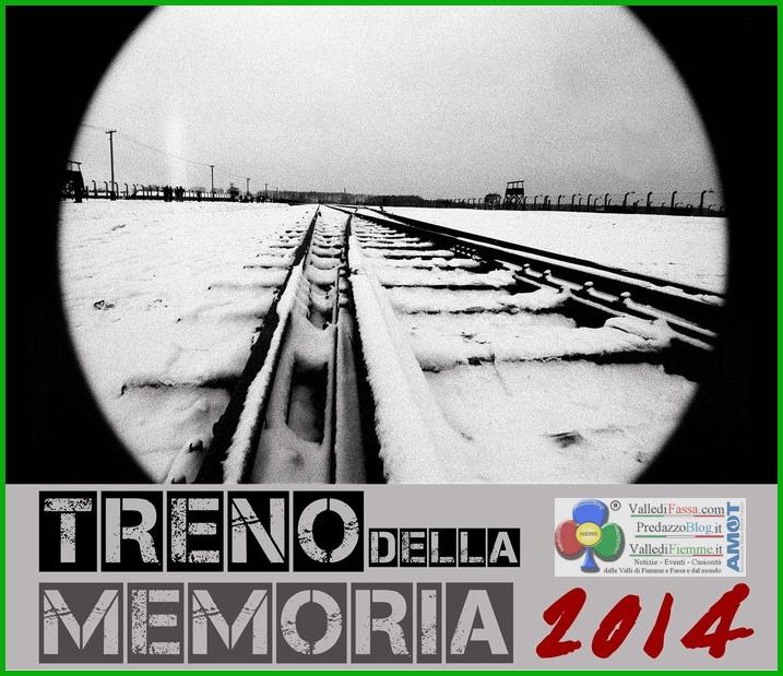 treno della memoria 2014 fiemme Treno della Memoria 2014 disponibili 13 posti per Fiemme