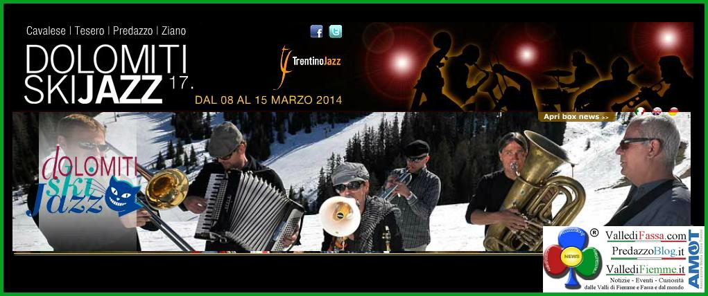 dolomiti ski jazz 2014 fiemme 1 Dolomiti Ski Jazz 2014 sulla neve di Fiemme