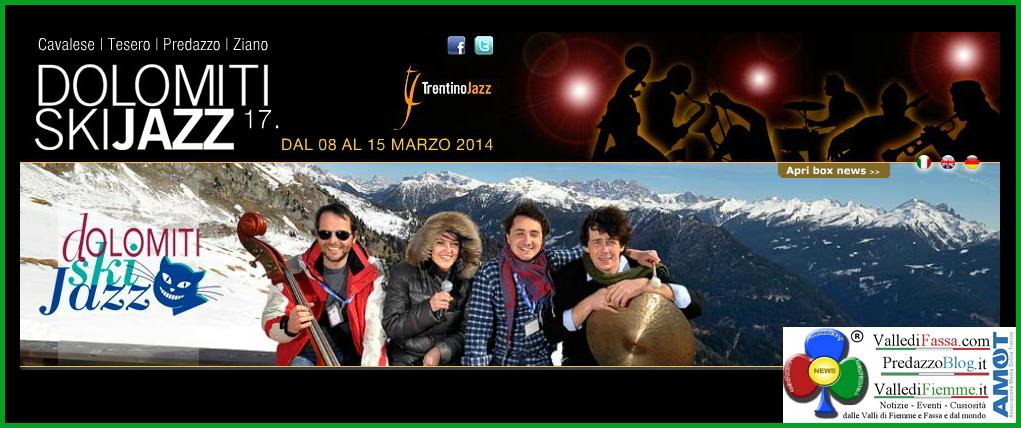 dolomiti ski jazz 2014 fiemme Dolomiti Ski Jazz 2014 sulla neve di Fiemme