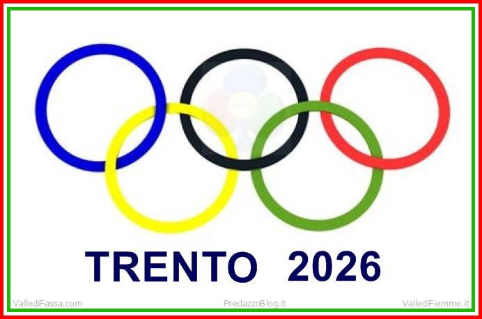 olimpiadi trento 2026 Trento candidata per le Olimpiadi invernali 2026