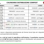 calendario distribuzione compost fiemme 2014 150x150 Compost gratis in Valle di Fiemme, le date