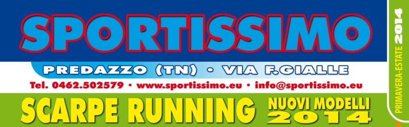 bannerone sportissimo scarpe running 2014 Campionato Valligiano di Fiemme 2014 ad Aguai,  classifiche e foto