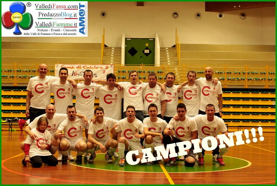 calcio a 5 latemar fiemme campioni Latemar Calcio a 5: vince il girone B della serie D