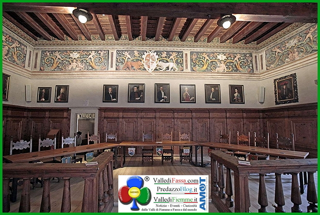 sala palazzo magnifica comunita di fiemme Magnifica Comunità di Fiemme, da luglio matrimoni a Palazzo