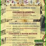 72 concertone bande fiemme ziano 2014 150x150 Il Concertone delle Bande Musicali di Fiemme in foto