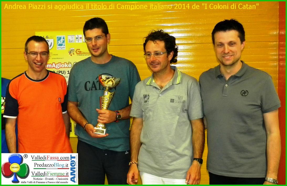 andrea piazzi tesero  Fiemme sugli scudi al campionato italiano a squadre de I coloni di Catan