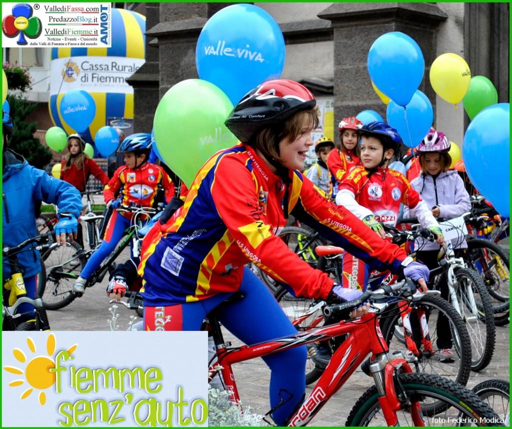 fiemme senz auto predazzo 1 1024x858 Tutti in bici Domenica 9 giugno per i 10 anni di Fiemme Senz'Auto