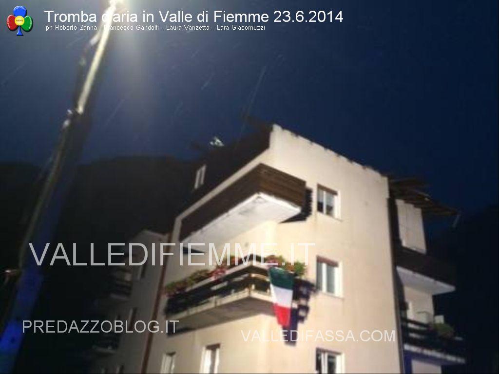 tromba daria 23.6.2014 in valle di fiemme ziano masi12 Trombe daria in Valle di Fiemme, danni a Ziano e Masi di Cavalese