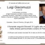 Giacomuzzi Luigi 150x150 Ziano, necrologio Franca Peretti