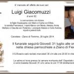 Giacomuzzi Luigi 150x150 Cavalese, necrologio Valentino Gilmozzi