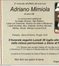 Mimiola Adriano ziano