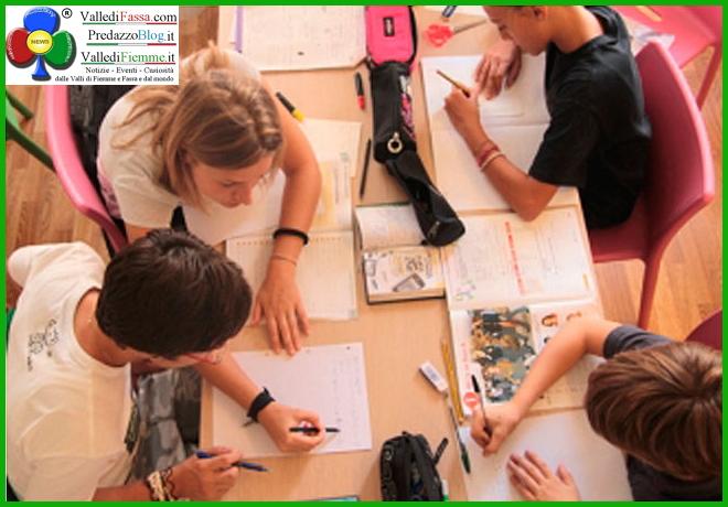 aiutiamici a studiare fiemme In Fiemme parte il nuovo Aiutiamoci a Studiare