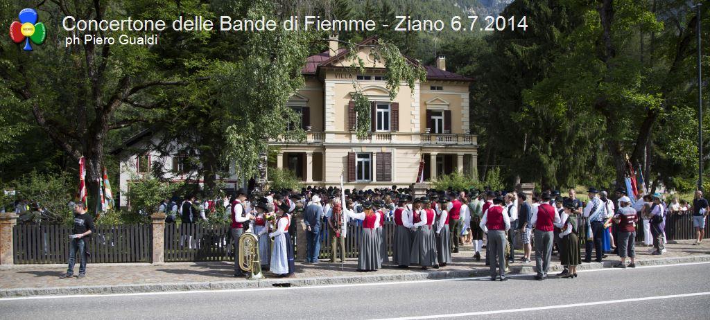 concertone delle bande di fiemme ziano 6.6.14 ph piero gualdi1 Il Concertone delle Bande Musicali di Fiemme in foto