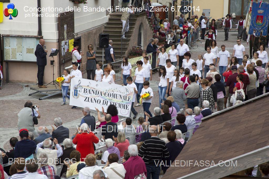 concertone delle bande di fiemme ziano 6.6.14 ph piero gualdi4 Il Concertone delle Bande Musicali di Fiemme in foto