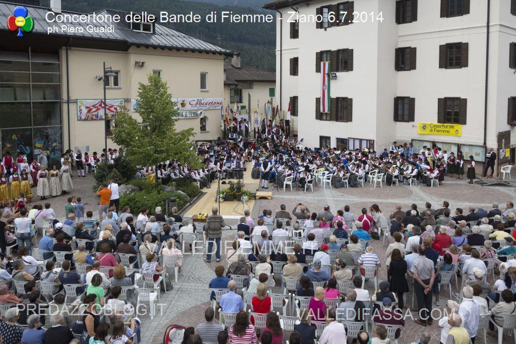 concertone delle bande di fiemme ziano 6.6.14 ph piero gualdi5 Il Concertone delle Bande Musicali di Fiemme in foto