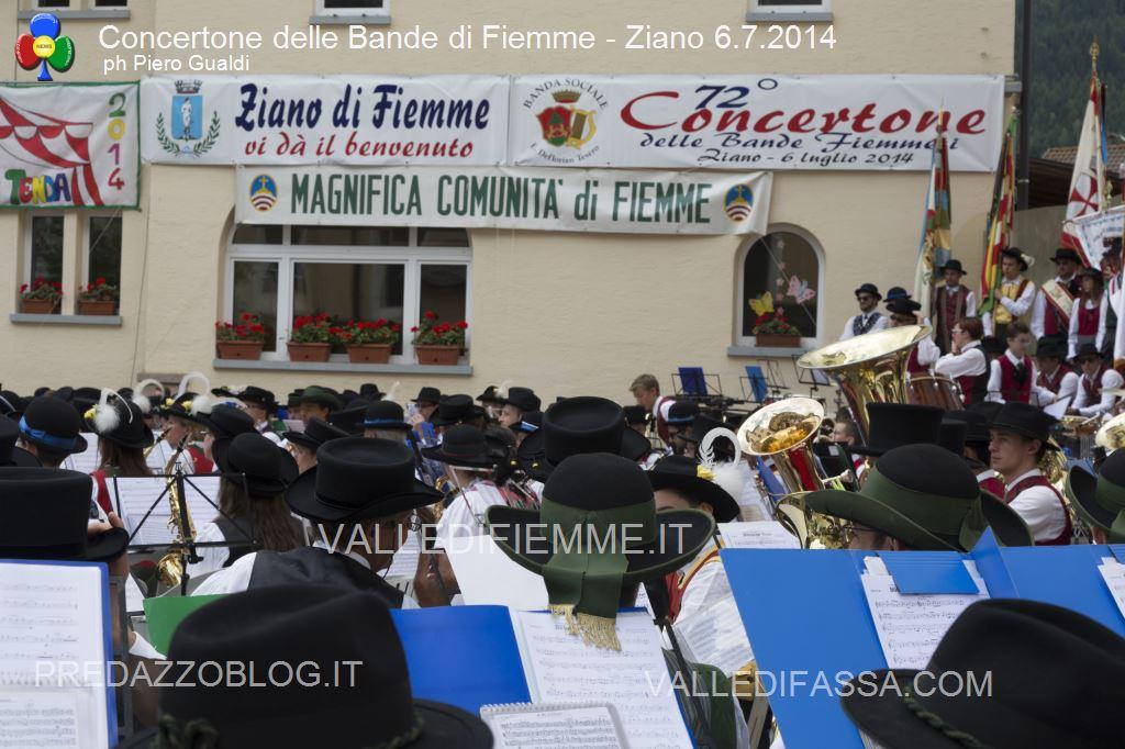 concertone delle bande di fiemme ziano 6.6.14 ph piero gualdi6 Il Concertone delle Bande Musicali di Fiemme in foto