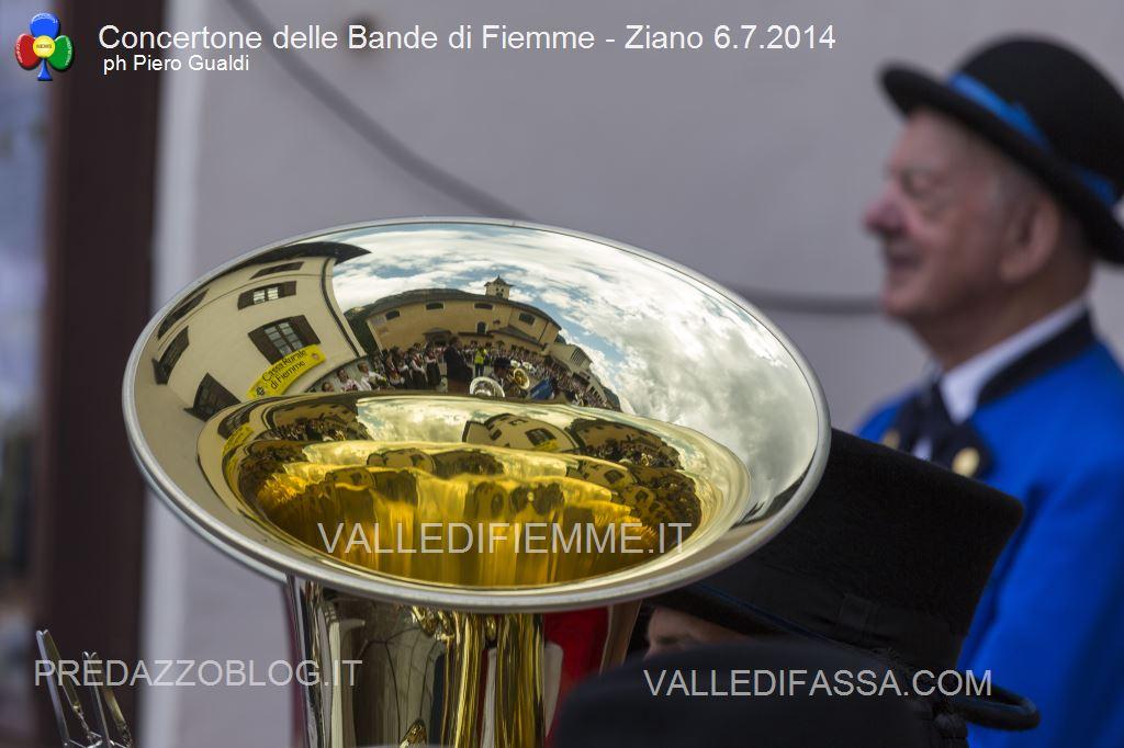 concertone delle bande di fiemme ziano 6.6.14 ph piero gualdi7 Il Concertone delle Bande Musicali di Fiemme in foto