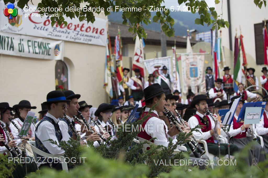 concertone delle bande di fiemme ziano 6.6.14 ph piero gualdi8 Il Concertone delle Bande Musicali di Fiemme in foto