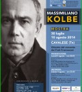 massimiliano kolbe mostra a cavalese fiemme