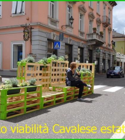 progetto viabilita cavalese 2014