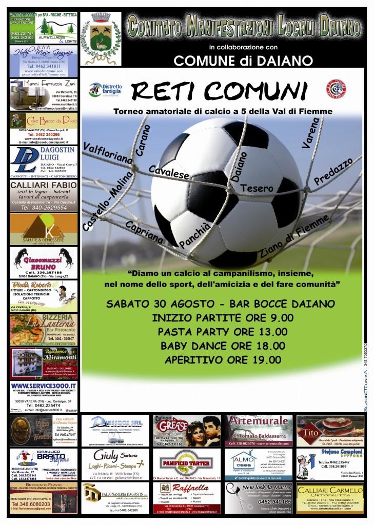 Reti comuni Locandina evento 729x1024 Reti Comuni   Un calcio al campanilismo