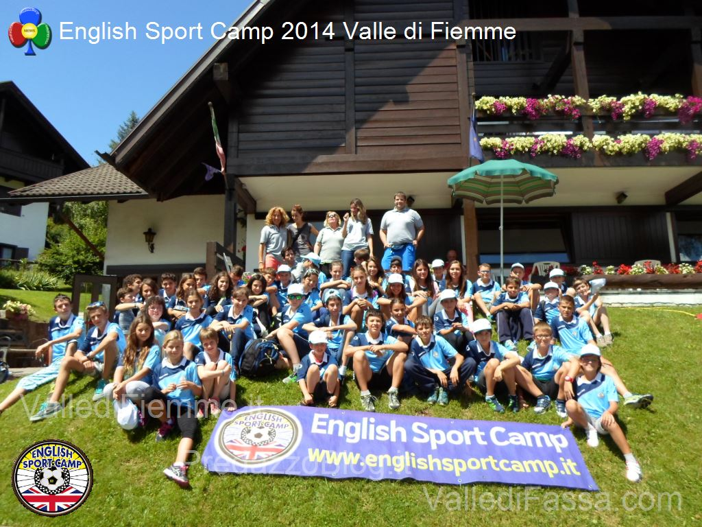 english sport camp 2014 fiemme12 English Sport Camp 2015 anche a Predazzo