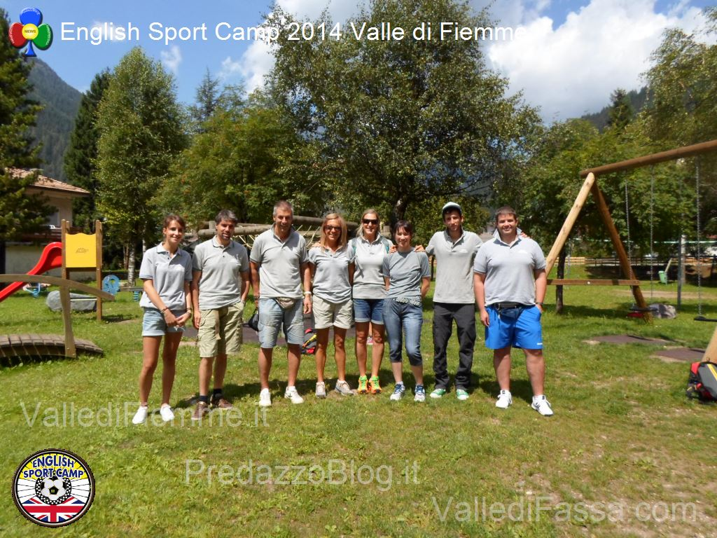 english sport camp 2014 fiemme28 English Sport Camp 2015 anche a Predazzo