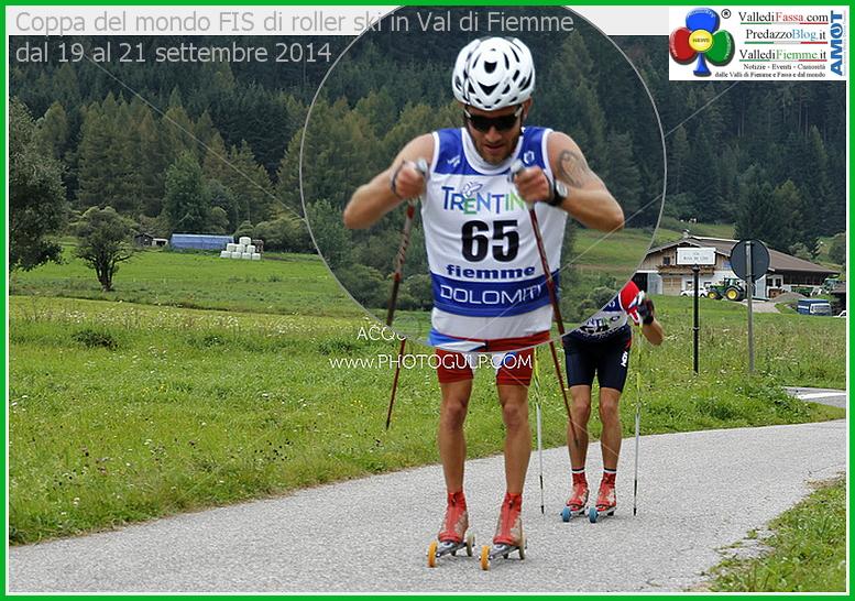 Coppa del mondo FIS di roller ski in Val di Fiemme dal 19 al 21 9 2014 Coppa del Mondo FIS Skiroll in Valle di Fiemme. Foto e classifiche
