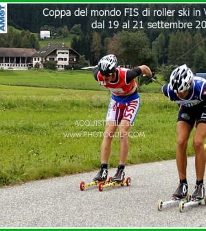 Coppa del mondo FIS di roller ski in Val di Fiemme dal 19 al 21 settembre 2014